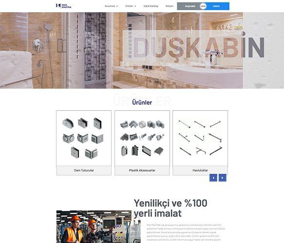 mak makina web sitesi tanıtımı - referanslarımız